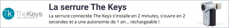 Serrure connectée TheKeys - LB