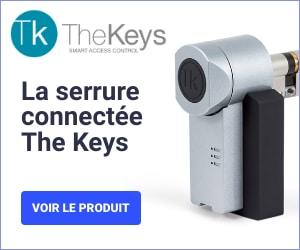 Serrure connectée TheKeys - Imu